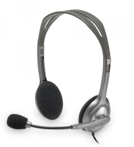 Logitech H110 2x 3.5mm Over the Head Wired Stereo Headset with Microphone