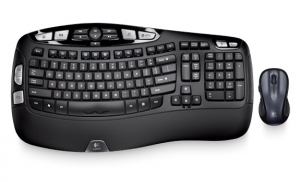 Logitech MK550 Wireless Wave Keyboard & Laser Mouse Combo