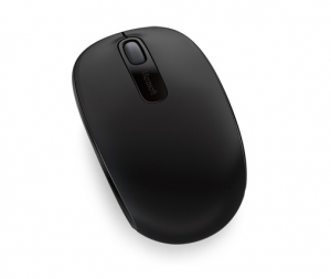 Microsoft 1850 Wireless Optical Mouse - Coal Black