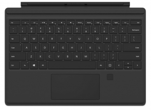 Microsoft Surface Pro Signature Type Keyboard Cover with Fingerprint Reader (Black)