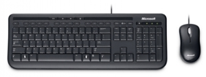 Microsoft Wired Desktop 600 USB Keyboard & Mouse