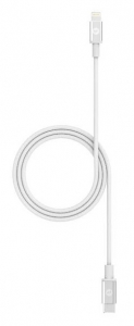 Mophie 1m USB-C to Lightning Braided Charge & Sync Cable - White