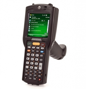 Motorola Rugged MC3190 Gun 1D SR 48 Key (High Capacity Battery) WiFi Bluetooth Touch PDT with Windows Mobile 6.5 Classic