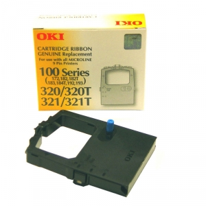 Oki 100RIBOKI 9 Pin Black Ribbon