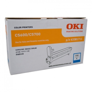 Oki C56CDRUM Cyan Imaging Drum