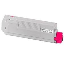 OKI 43865726 Magenta Toner Cartridge for C58XX/C59XX/MC560n