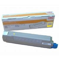 Oki C86YTONE Yellow Toner Cartridge