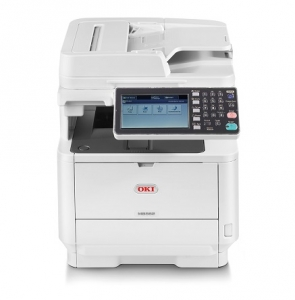 Oki MB562dnw Duplex 45ppm Network Monochrome Laser Multifunction Printer + 3 Year Warranty Extension Offer!