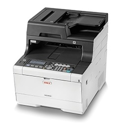 Oki MC563DN 30ppm Duplex Network Colour Laser Multifunction Printer + 3 Year Warranty Extension Offer!