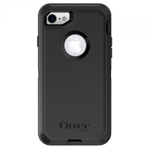 OtterBox Defender Case for iPhone 7 & iPhone 8 - Black