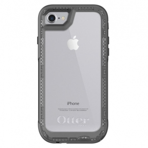 OtterBox Pursuit Case for iPhone 7 & iPhone 8 - Black & Clear