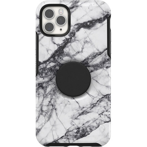OtterBox + Pop Symmetry Case for iPhone 11 Pro - White Marble