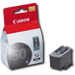 Canon PG50 High Yield Black Ink Cartridge