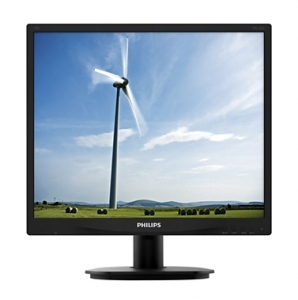 Philips S-line 19 Inch 1280 x 1024 SXGA 5ms IPS Monitor with Speakers - VGA DVI