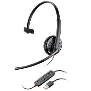 Plantronics Blackwire 310-M UC MS Wired Mono USB Headset - Optimised for Microsoft Skype for Business
