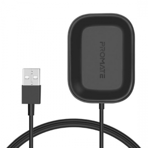Promate AuraPod-1 Wireless Charger for Apple AirPods - Black