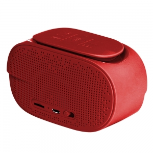 Promate CheerBox Premium Touch Controlled Wireless Speaker - Maroon Red