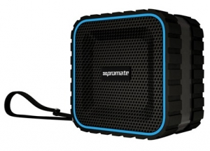 Promate AquaBox Rugged Water & Dust Resistant Wireless Speaker with Handsfree Function