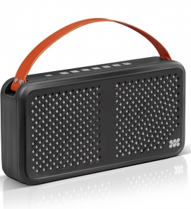 Promate Radiant 15W Wireless Bluetooth Splashproof Speaker with 4400mAh Power Bank - Black