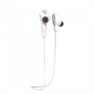 Promate VITALLY-2 Wireless Bluetooth Secure-Fit Sport Ear Phones - White
