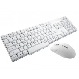 Rapoo X1800S Wireless Keyboard & Mouse Combo - White