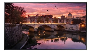 Samsung QBR Series 65 Inch 3840x2160 4K 350nit Edge-Lit Commercial Display