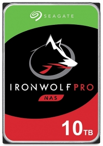 Seagate IronWolf Pro 10TB 7200rpm 256MB Cache 3.5 Inch SATA3 NAS Hard Drive