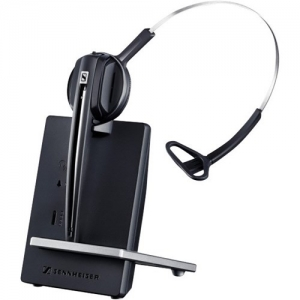 Sennheiser D 10 Overhead Wireless Mono Headset with Base Station