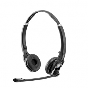 Sennheiser IMPACT DW Pro 2 DECT Over Head Wireless Stereo Headset (Headset Only) - Connection to Deskphone Only