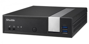 Shuttle DX30 Celeron J3355 Fanless Barebone PC