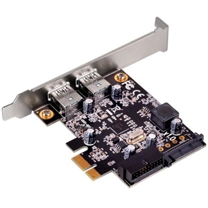 SilverStone 2 Port USB 3.0 PCIe Card