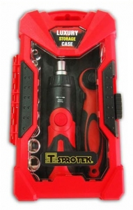 Sprotek 26 Piece Ratchet Handle & Screwdriver Set