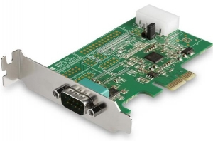StarTech 1 Port PCI Express DB9 RS232 Serial Adapter Card + Be in the draw to WIN 1 of 2 $500 Prezzy Cards