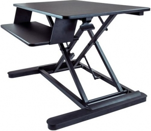 StarTech Sit Stand Desktop Workstation with Large 35 Inch Work Surface + Be in the draw to WIN 1 of 2 $500 Prezzy Cards