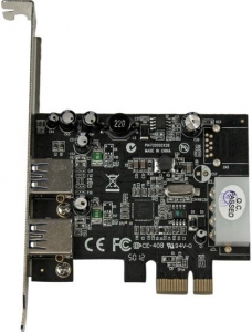 StarTech 2 Port USB 3.0 PCI Express Controller Card with LP4 Power & UASP + Be in the draw to WIN 1 of 2 $500 Prezzy Cards