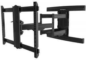StarTech Heavy Duty Articulating Wall Mount Bracket for 37-100 Inch Curved & Flat Panel TVs or Monitors - Up to 75kg + Prezzy Card Draw Offer