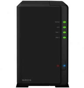 Synology NVR1218 2 Bay 1GB RAM Diskless Tower NAS Network Video Recorder
