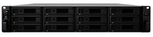 Synology RackStation RS2418+ 12 Bay 4GB RAM Diskless 2RU Rack Mountable NAS