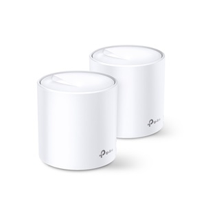 TP-Link Deco X60 AX3000 Wi-Fi 6 Whole Home Mesh Wireless System - 2 Pack