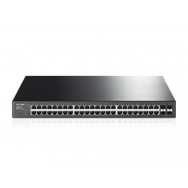 TP-LINK T1600G-52PS JetStream 48-Port Gigabit Smart PoE+ Switch with 4 SFP