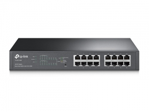 TP-Link TL-SG1016PE 16-Port Gigabit PoE+ Rack Switch