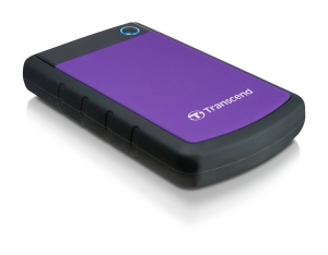 Transcend StoreJet 25H3 4TB 2.5 Inch USB 3.0 Extra Rugged External Hard Drive + FREE Hard Drive Pouch!