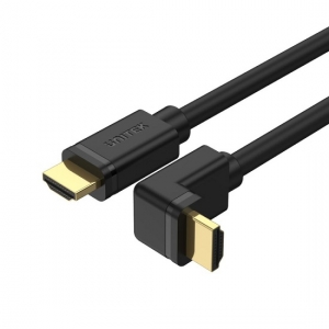 Unitek 2m 4K 60Hz High Speed HDMI 2.0 Right Angle 90° Cable