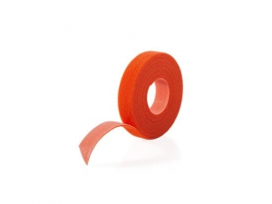 Velcro One-Wrap 12.5mm x 22.8m Cable Management Roll - Orange