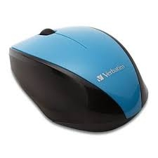 Verbatim Optical Multi-Trac USB 2.0 Mouse - Blue