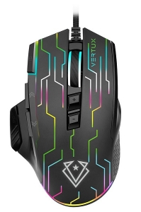 Vertux Kryptonite Stellar Tracking 9 Button Wired Gaming Mouse