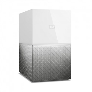 Western Digital My Cloud Home Duo 4TB Gigabit Ethernet USB 3.0 External NAS Personal Cloud Storage