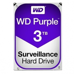 Western Digital Purple 3TB 5400rpm 64MB Cache 3.5 Inch SATA3 Surveillance Hard Drive