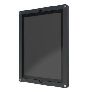 Windfall Secure Frame for iPad 2, 3, 4 - Black