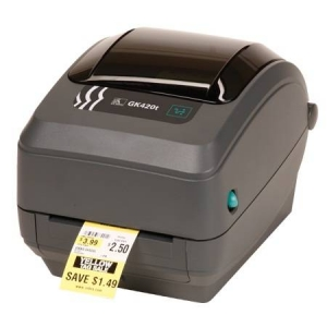 Zebra GK420T R2 Desktop 203DPI Ethernet Thermal Transfer Label Printer
